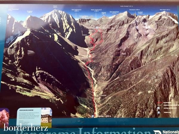 Wanderkarte des Nationalparks