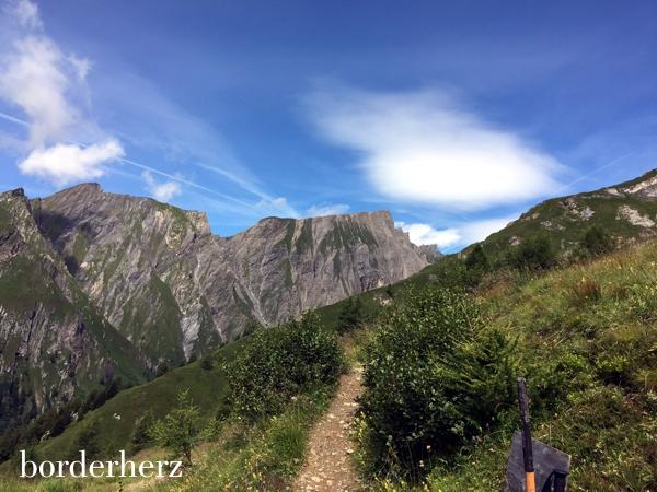 Weg zur Glorerhütte