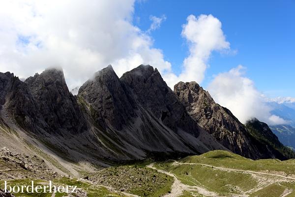Majestätische Dolomiten