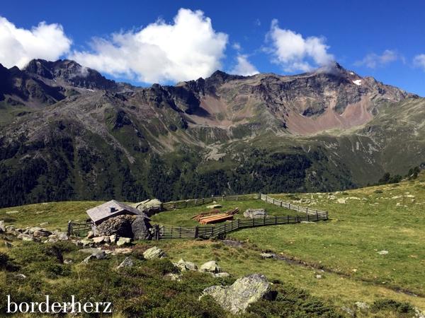 Panorama Aufstieg Wangenitzseehütte