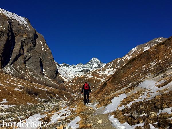 Aufstieg zur Lucknerhütte