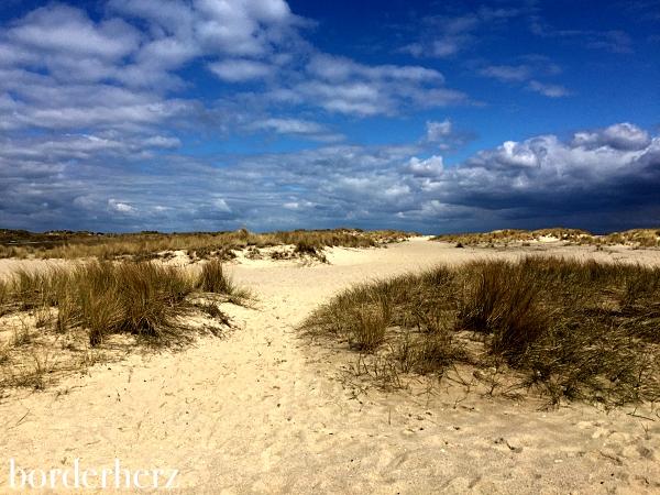 Dünenweg zum Ellenbogen Strand