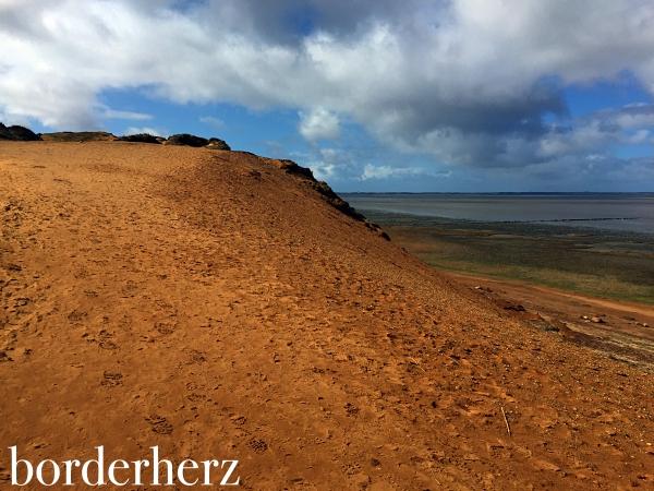 Morsumer Kliff von oben