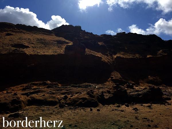 Morsumer Kliff von unten