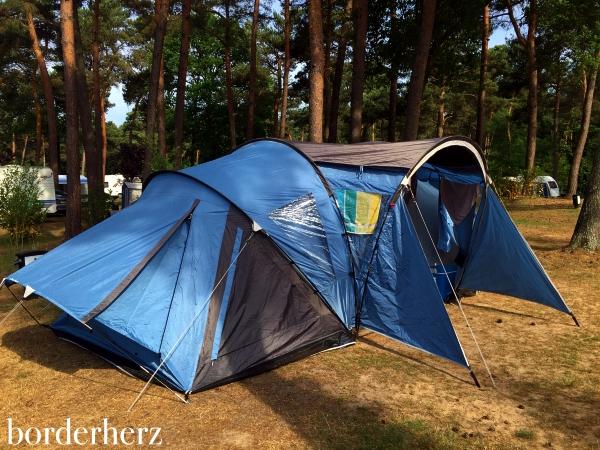 Camping in Helden