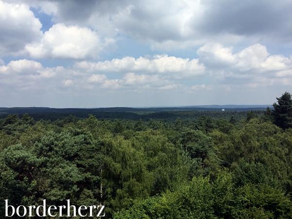 Blick über den Naturpark Hohe Mark