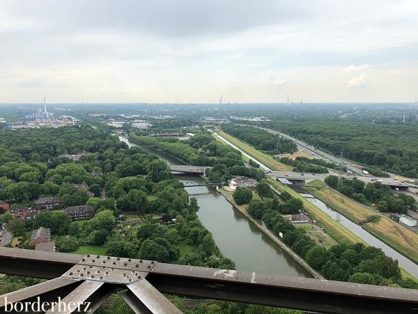 Kaisergarten von oben