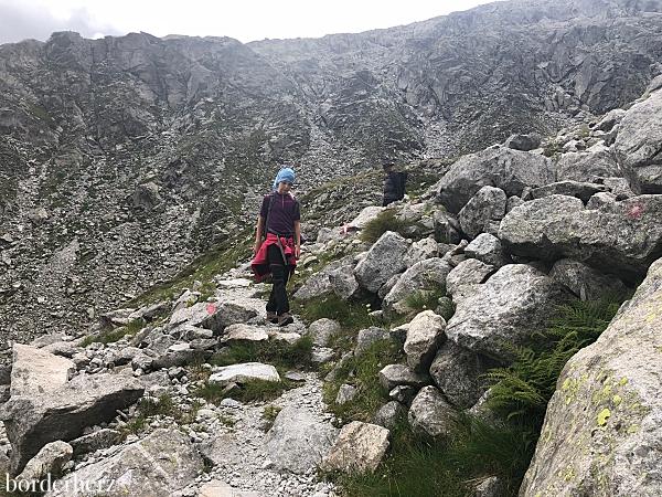 Alpines Gelände
