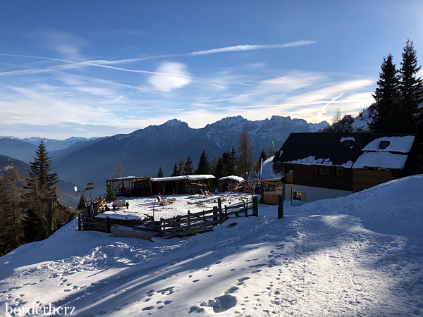 Naturfreundehütte im Winter