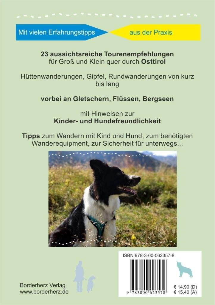 Osttirol Hütten- und Bergtouren mit Kind und Hund