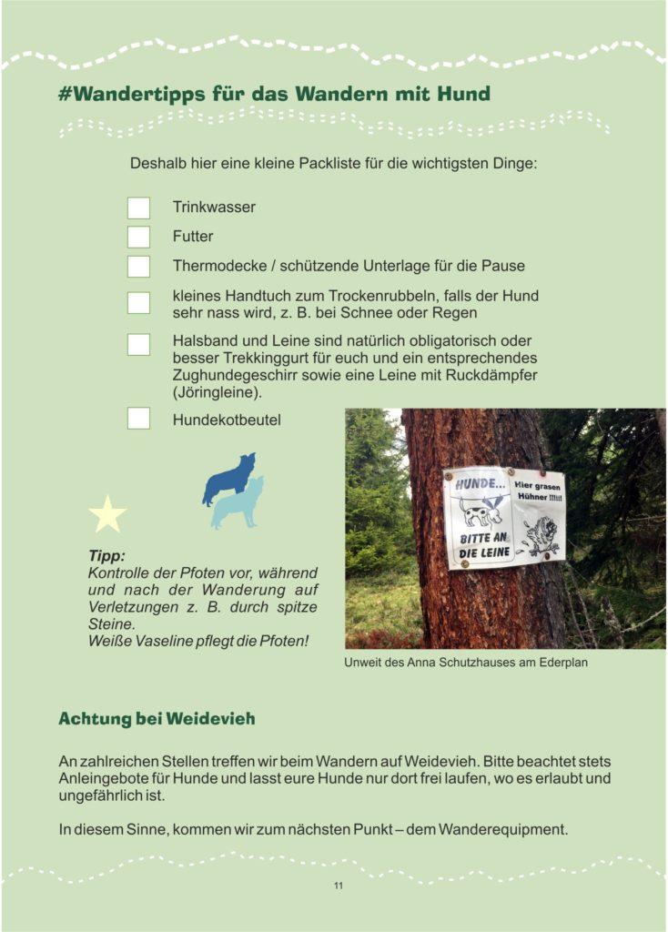 Osttirol wandern mit Hund