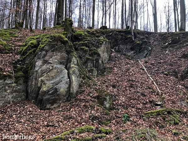 Felsformationen im Sauerland