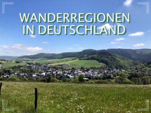 Wanderregionen Deutschland