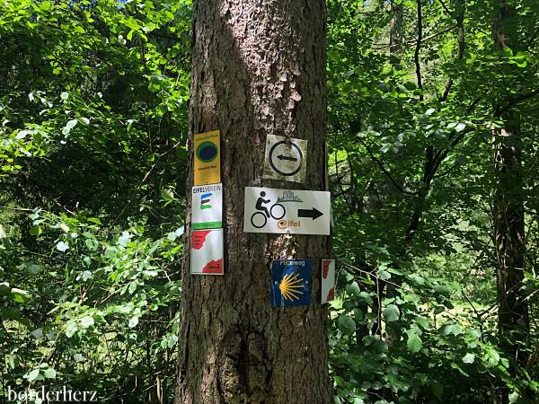 Wegweiser in der Eifel