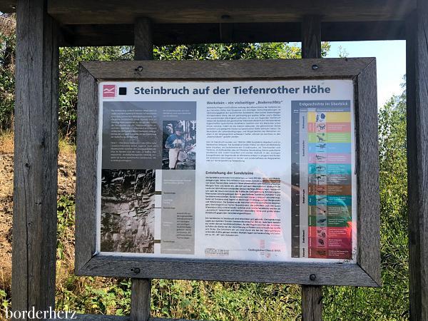 Steinbruch Tiefenrother Höhe