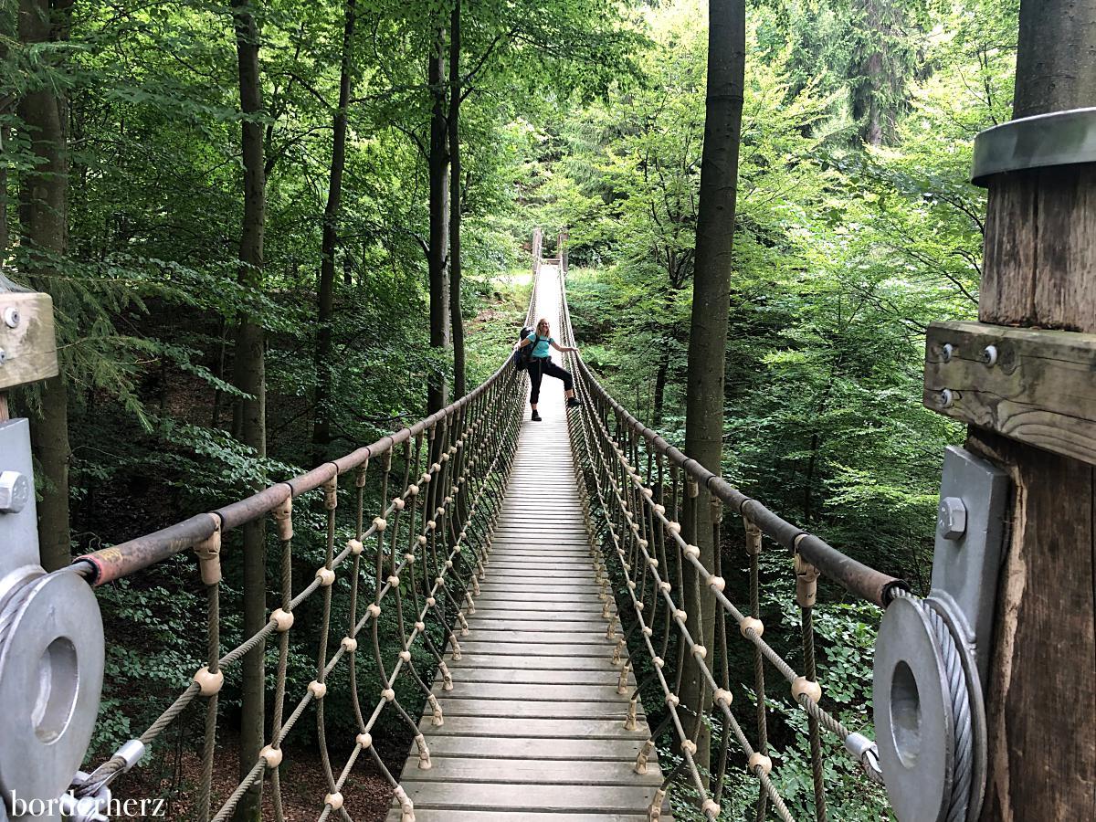 Hängebrücke Kühhude
