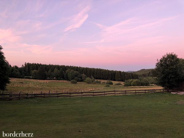 Sonnenuntergang Nähe Ginsburg