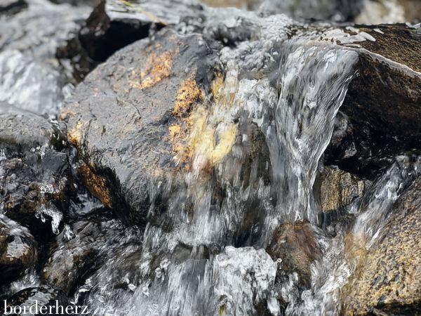 Trinkwasser aus den Bergen