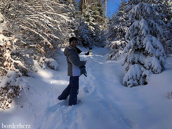 Schneewandern Sauerland