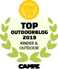 CAMPZ Siegel Top Outdoorblog 2019 KinderOutdoor Top10