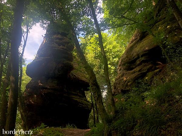 Felsenpfad Hunsrück